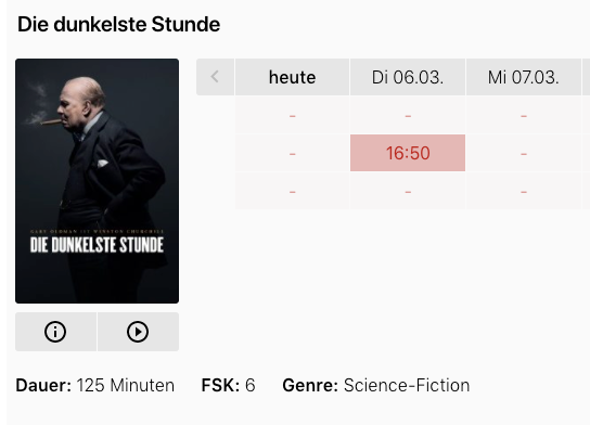Die dunkelste stunde science fiction