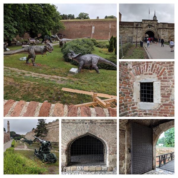Collage belgrad kalemegdan eigene fotos
