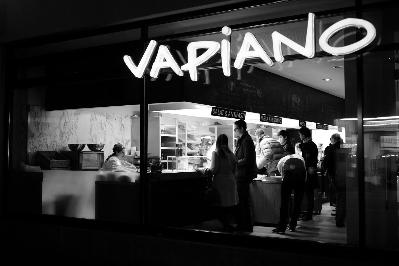 Wie man ein typisches Vapiano kennt. Foto: Thomas Leukhard/Flickr